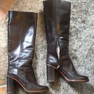 Fendi leather knee boots size 40